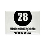 28 19th Ave (Classic) Rectangle Magnet (10 pack)
