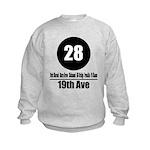 28 19th Ave (Classic) Kids Sweatshirt
