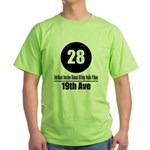 28 19th Ave (Classic) Green T-Shirt