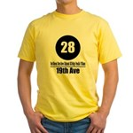 28 19th Ave (Classic) Yellow T-Shirt