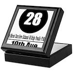 28 19th Ave (Classic) Keepsake Box