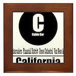 C California Cable Car (Class Framed Tile