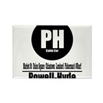 PH Powell-Hyde Cable Car (Cla Rectangle Magnet (10