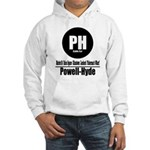 PH Powell-Hyde Cable Car (Cla Hooded Sweatshirt