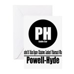 PH Powell-Hyde Cable Car (Cla Greeting Cards (Pk o
