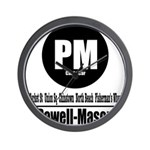 PM Powell-Mason Cable Car (Cl Wall Clock