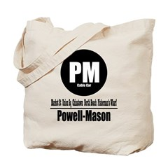 PM Powell-Mason Cable Car (Cl Tote Bag