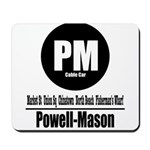 PM Powell-Mason Cable Car (Cl Mousepad