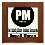 PM Powell-Mason Cable Car (Cl Framed Tile