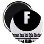 F Market/Wharves (Classic) Magnet