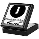 J Church (Classic) Keepsake Box
