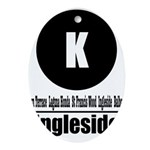 K Ingleside (Classic) Oval Ornament