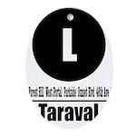 L Taraval (Classic) Oval Ornament