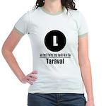 L Taraval (Classic) Jr. Ringer T-Shirt