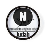 N Judah (Classic) Wall Clock
