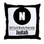 N Judah (Classic) Throw Pillow