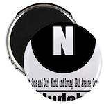 N Judah (Classic) Magnet