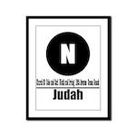 N Judah (Classic) Framed Panel Print