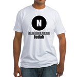 N Judah (Classic) Fitted T-Shirt