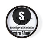 S Castro Shuttle (Classic) Wall Clock