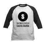 S Castro Shuttle (Classic) Kids Baseball Jersey
