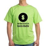 S Castro Shuttle (Classic) Green T-Shirt