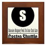 S Castro Shuttle (Classic) Framed Tile