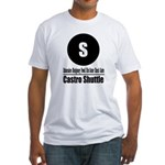 S Castro Shuttle (Classic) Fitted T-Shirt
