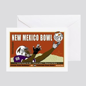 New Mexico Bowl 2008 Greeting Card