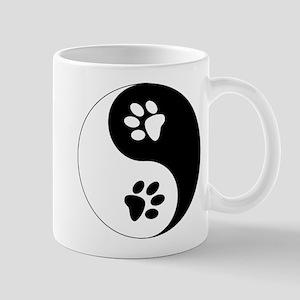 Yin Yang Paws Mug