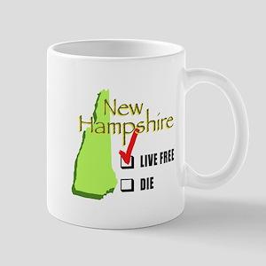 Live Free or Die New Hampshire Mug