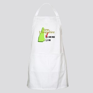 Live Free or Die New Hampshire BBQ Apron