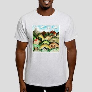 Cow Land Light T-Shirt