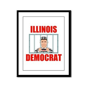 ILLINOIS CRIME LORDS Framed Panel Print