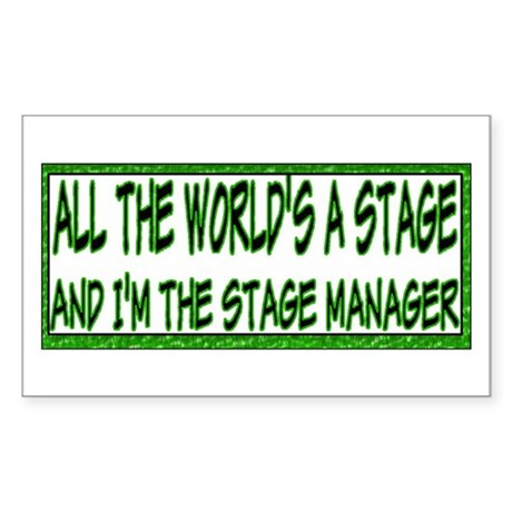 Stage Manager Rectangle Sticker