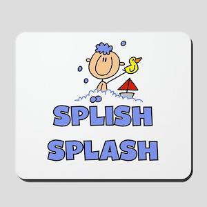 Splish Splash Bath Mousepad