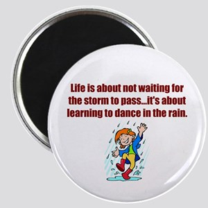 "Dance in the Rain 2.25"" Magnet"