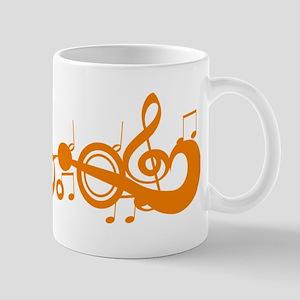 Orange Melody Mug