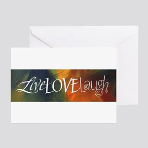 LiveLoveLaugh Greeting Cards (Pk of 20)