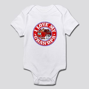 I Love my Grandpa (Fire) Infant Bodysuit