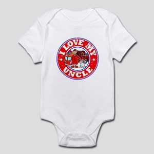 I Love my Uncle (Fire) Infant Bodysuit