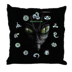 Zeta Bug Art Throw Pillow