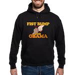 Fist Bump for Obama Hoodie (dark)