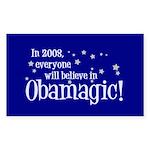 Obamagic in 2008 Rectangle Sticker 50 pk)