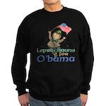 Leprechauns for O'Bama Sweatshirt (dark)