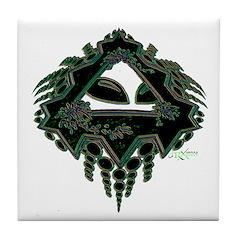 Cropcircle Tile Coaster
