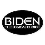 Logical Biden Oval Sticker (50 pk)