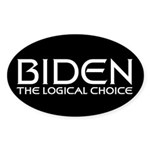 Logical Biden Oval Sticker (10 pk)