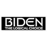 Logical Biden Bumper Sticker (10 pk)
