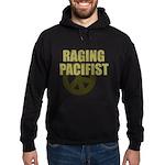 Raging Pacifist Hoodie (dark)